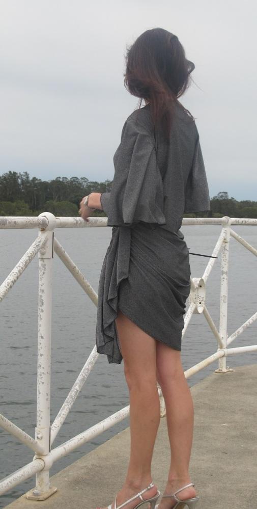 Drape Drape 3 No 12. Draped Wrap Dress