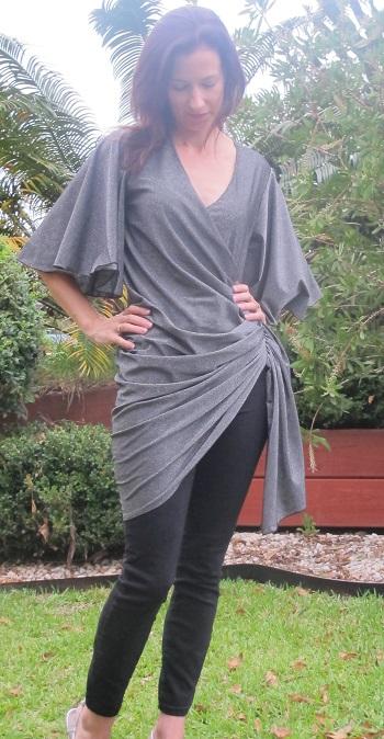 Drape Drape 3: No. 12. Draped Wrap Dress