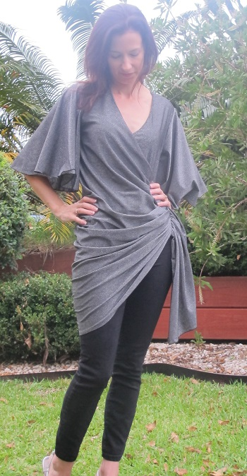 Drape Drape 3: No. 12. Draped Wrap Dress