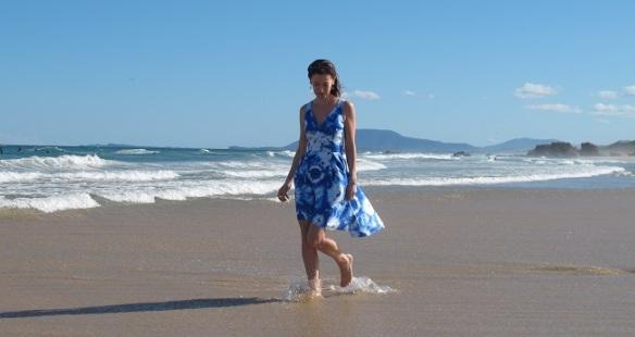 BY Hand London Flora Dress - wrap bodice version