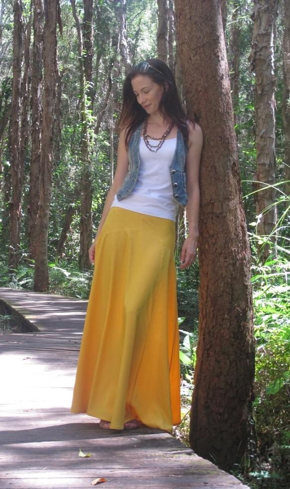 Sewaholic Gabriola Maxi Skirt