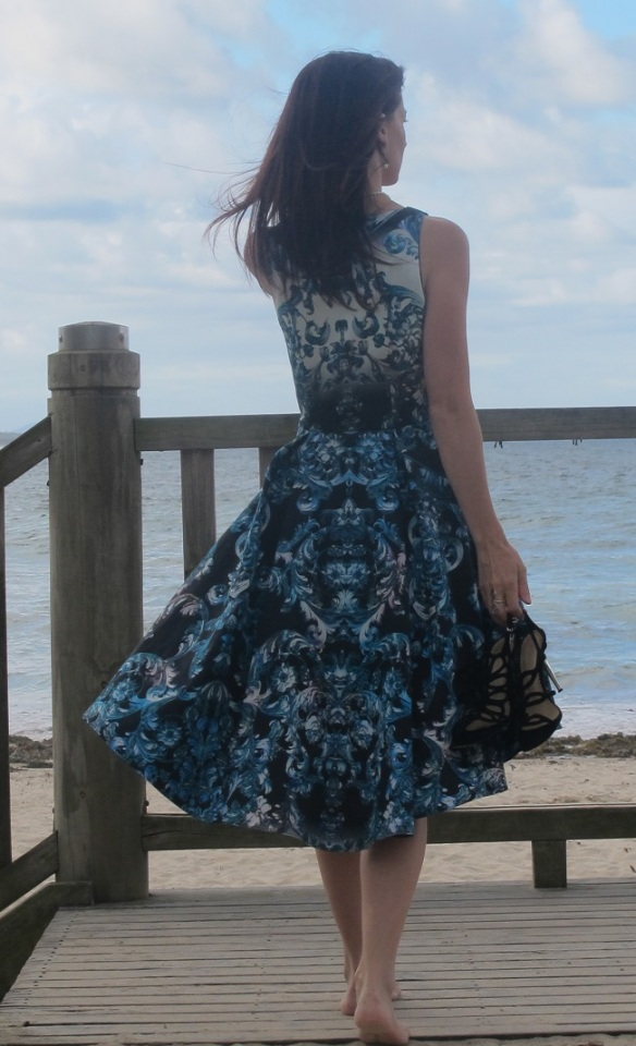 BY Hand London Flora Dress - wrap bodice version