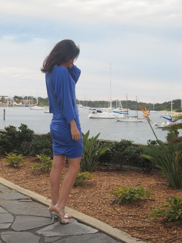No. 7 from Drape Drape 2 - Batwing dress. Sewn by Sew Busy Lizzy from rayon knit from The Fabric Store, Sydney
