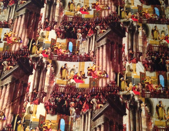 Gallery Fabric from Tessuti