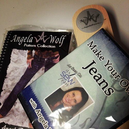 Angela Wolf pattern, DVD & clapper