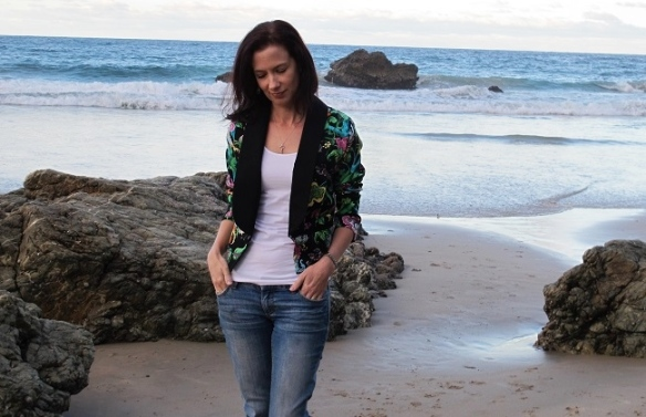 Bellatrix Blazer by Papercut Patterns