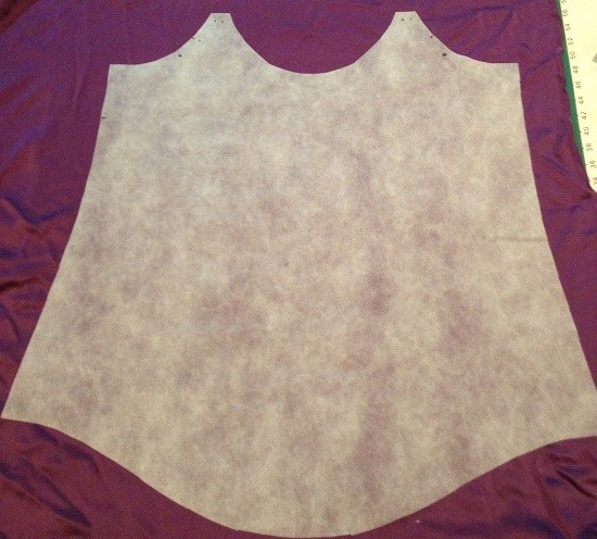 Flat Pattern pieces for sewing with silk - Mood Fabrics