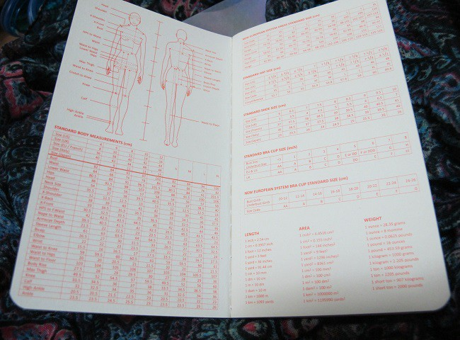 Fashionary Neon - reference pages