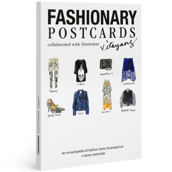 Fashionary Postcard Book