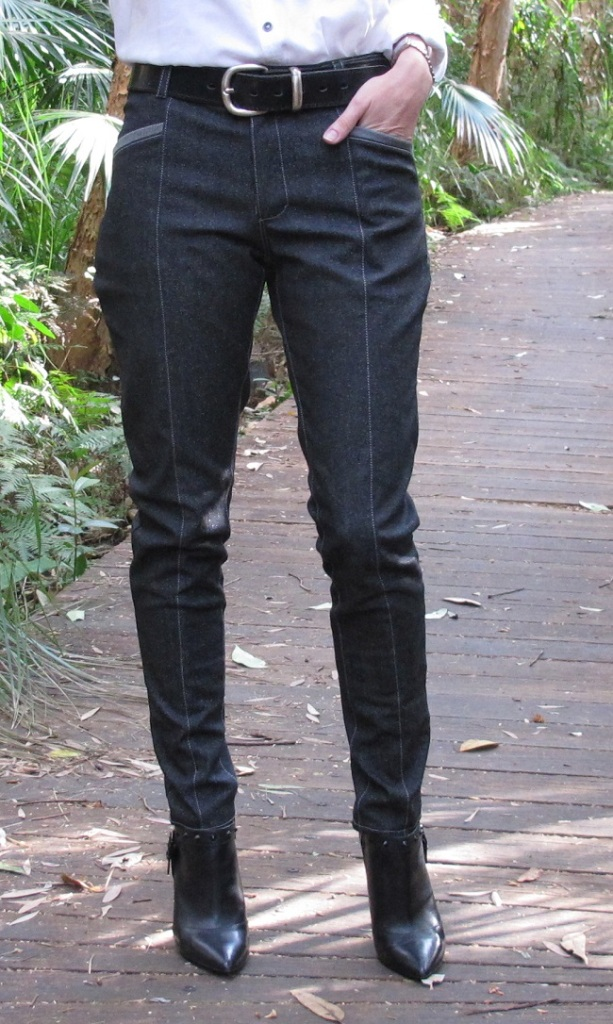 Named Patterns: Jamie Jeans. Front view