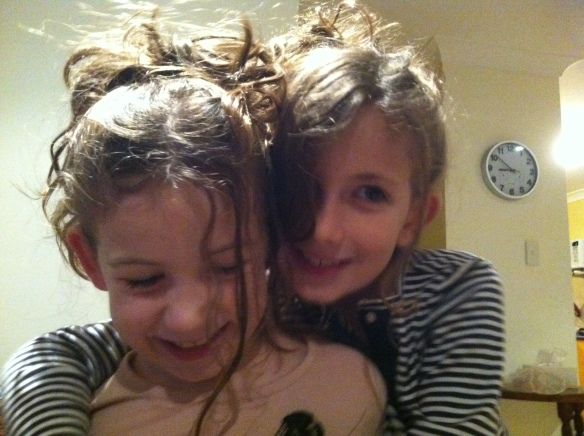 My girls... Giselle and Zoe - the very best of friends