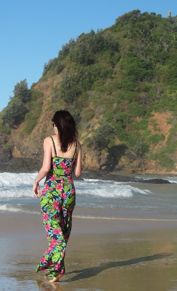 By Hand London Holly Jumpsuit - back view
