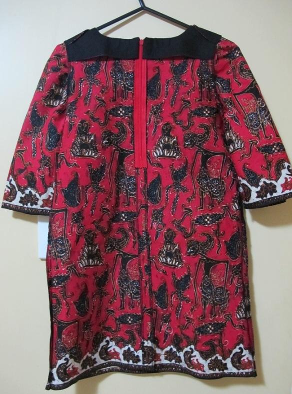 Inside back, Sunki Dress