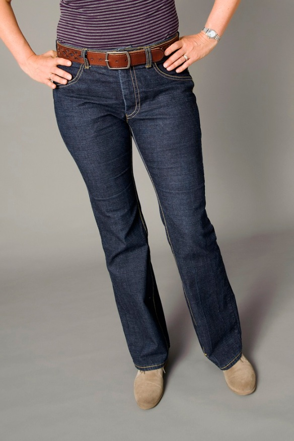 Check out these amazing jeans at The Confident Stitch!