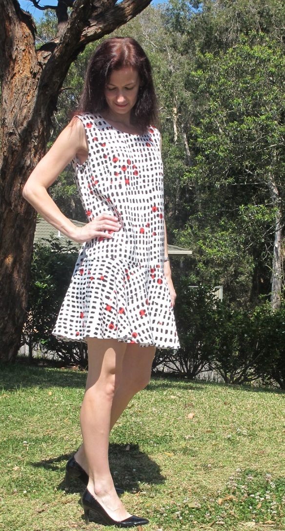 Papercut Saiph Tunic - it's loose!