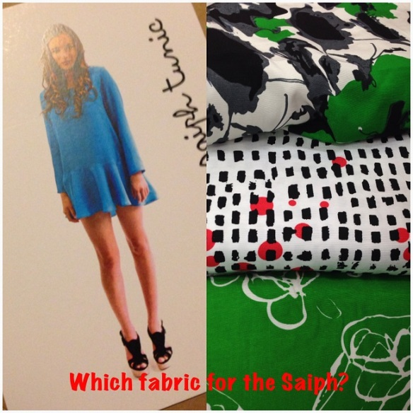 Papercut Saiph Tunic - material options