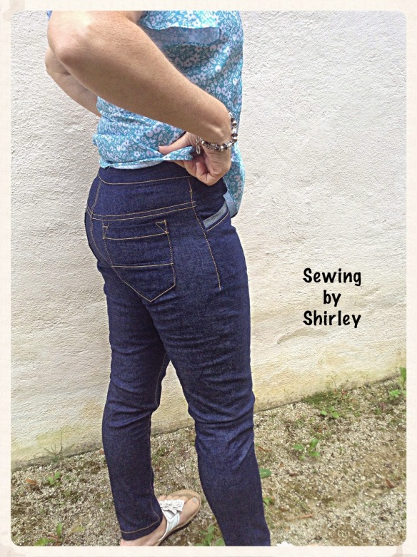 Sewing by Shirley - Jamie Jeans!