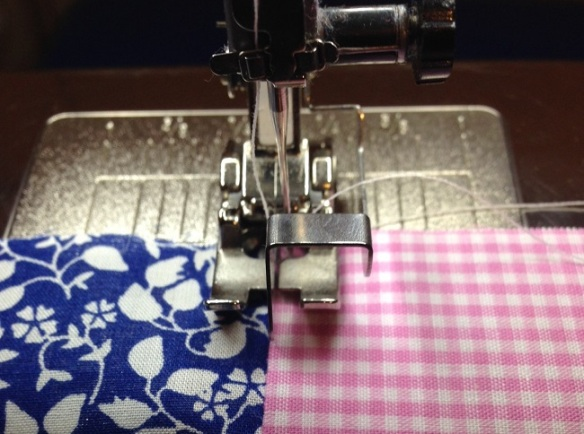 McCalls 6696 - understitching the buttonband