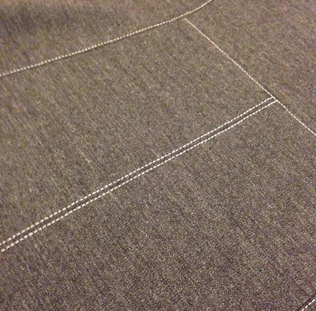 Style Arc Ziggi Jacket - back top stitching detail