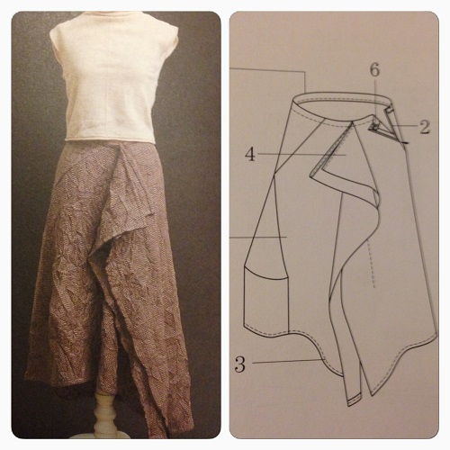 a draped skirt... yes my weakness!