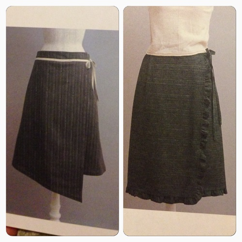 Some cute wrap skirts from Stylish Skirts