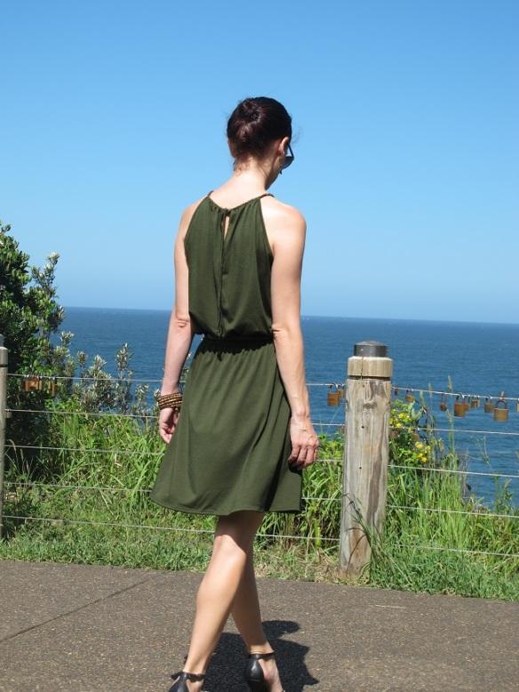 Back view. Pauline Alice Eliana Dress