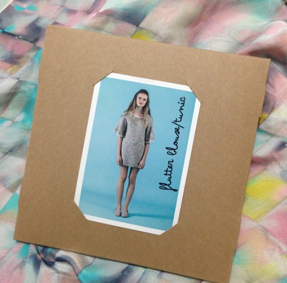 Flutter tunic - Papercut Patterns package