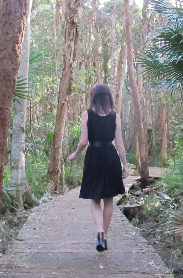 Sway Dress - back