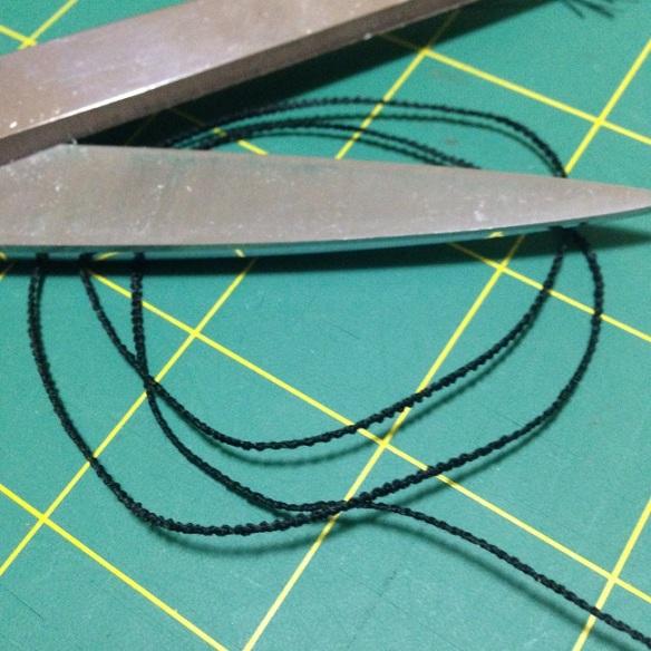 sewing thread loops