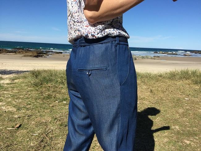 Papercut Patterns Guise Pants - welt pockets