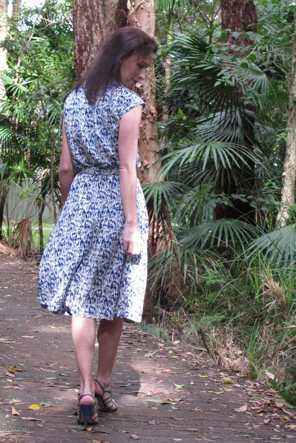 Sewaholic Nicola with heels - back view
