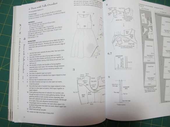 Stylish Party Dresses - typical instructions.