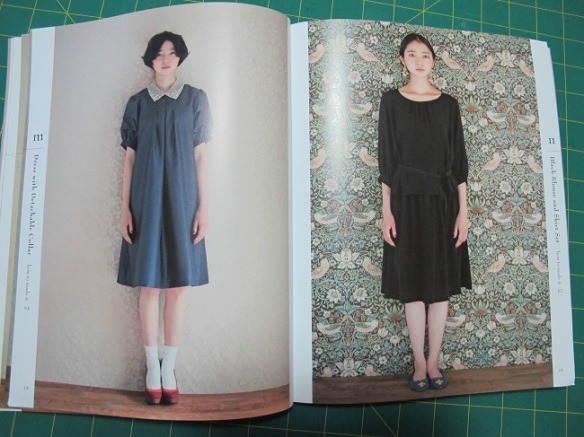 I love the little blouse 'design n'. A simple wearable everyday design