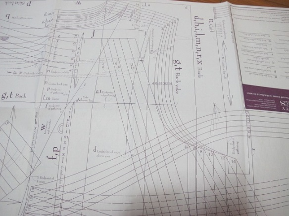 the pattern sheet