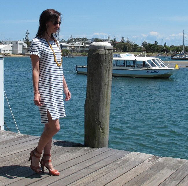 Inari Dress, Named Patterns, Sew Busy Lizzy