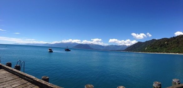 Jackson Bay - perhaps my favourite bay. Beautiful weather in a beautiful somewhat remote place.