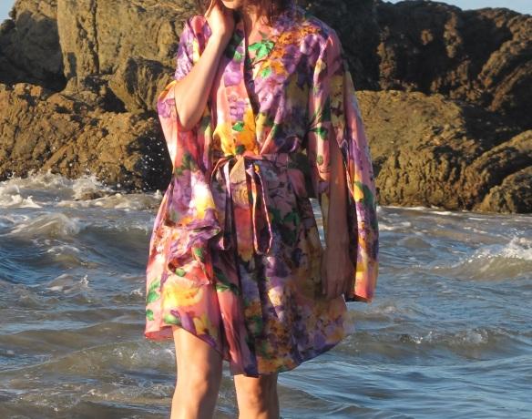 Asaka Kimono, Named Patterns, front view.