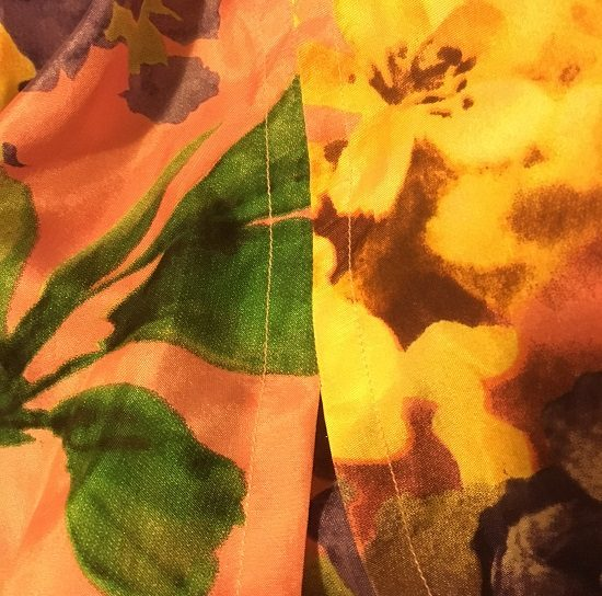 Asaka Kimono, Named Patterns, back view. Sewn by Sew Busy Lizzy