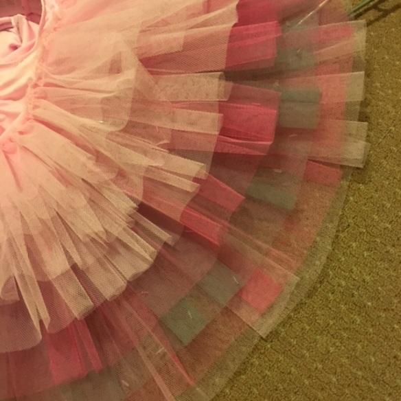 tutu skirt underside