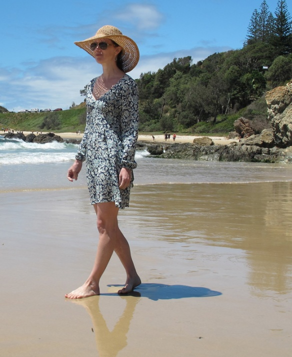 Alix Dress - the tester version from By Hand London