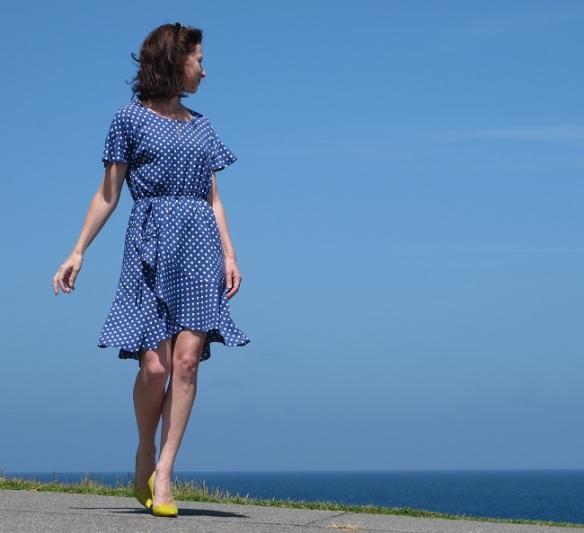 Papercut Adrift Dress - front view