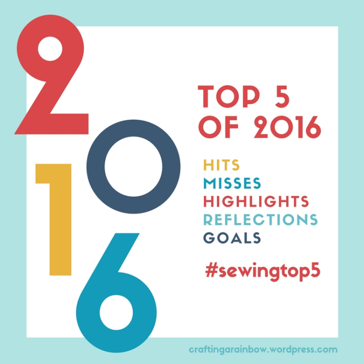 Top 5 2016 - an abbreviated version