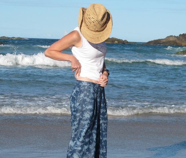 Megan Nielson Flint Pants. waistband