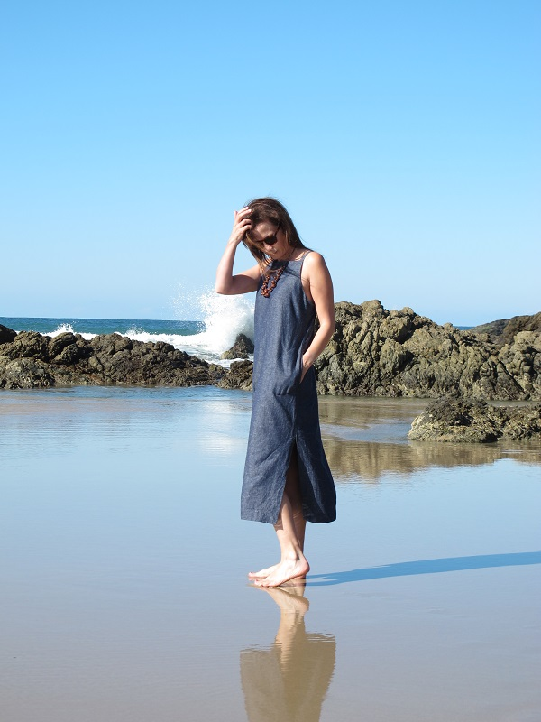 Claudia Dress by Tessuti Patterns