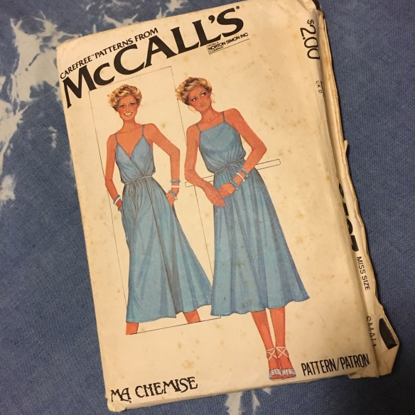 McCalls 6587, printed in 1979