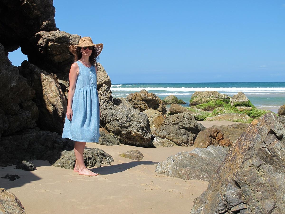 Lisa Dress, Tessuti Patterns