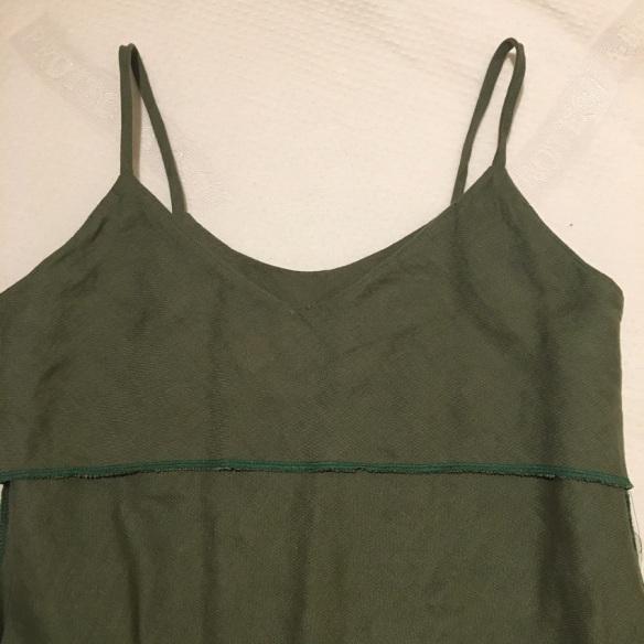 Sadie Slip Dress, Tessuti Patterns. Inner lining/facing