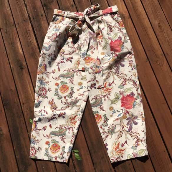 Testing trouser patterns